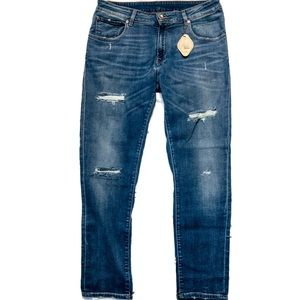 Jijil Le Blue Giusy High Rise Blue Jeans